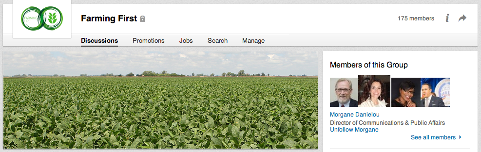 Farming First LinkedIn