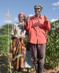 Francis and Juliana Mutungi part of the PASS improved seed programme. Credit_ Bill & Melinda Gates Foundation